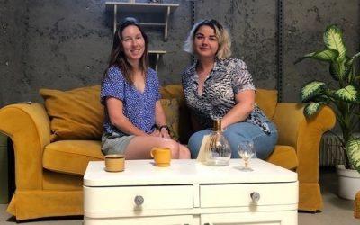 ESC prostovoljki Natalia in Liza se predstavita